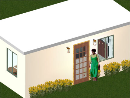 Two Bedroom Kit Home, Granny Flat, Transportable Home