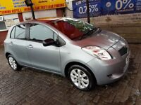 Toyota Yaris 1.3 VVT-I TR MMT, Automatic 5 Door Hatchback 2008, Only 47262 miles. FOR SALE £3850