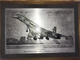 old picture of Concorde