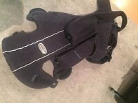 baby bjorn carrier, baby sling carrier. well used but all working