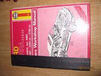 Haynes Owners Workshop Manual Ford Sierra 2.3 & 2.8