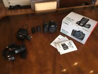 Canon 70D with accessories - 1 Owner - Very Good Condition