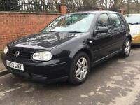 VOLKSWAGEN GOLF GTI 115 BHP 2003 5 DOOR 2.0 1 OWNER FROM NEW BLACK ALLOYS FULLY LOADED