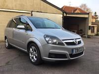 2006 Vauxhall Zafira Breeze, 1.8, petrol, 7 seater, 141k, ultra tidy, includes private plate