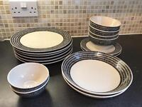 Dinnerware set - £30