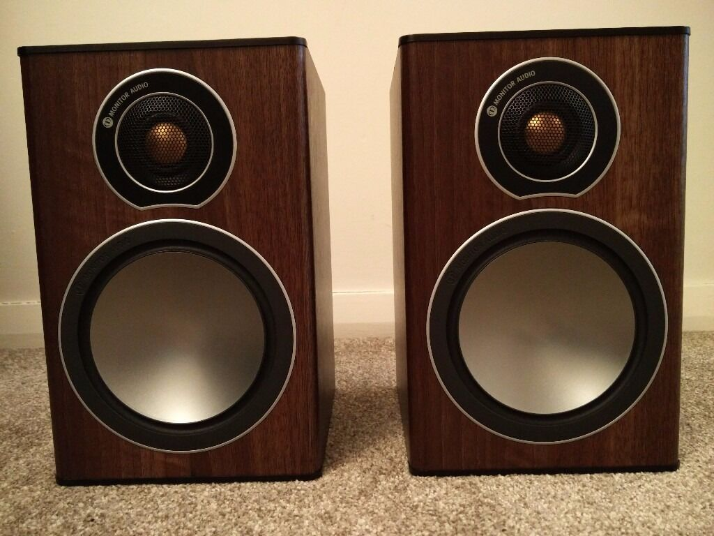 Speakers Monitor Audio Bronze 1 In Glenfield Leicestershire Gumtree 6 Walnut