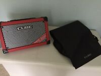Roland Cube Street Amp and bag
