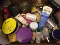 Assorted perfumes, body lotions and other beauty products