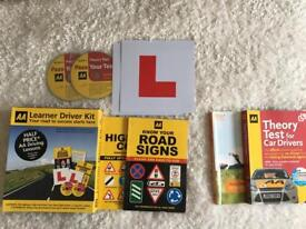 Learner Driver Kit + 2 theory test books