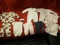 Baby clothes rose set vest leggings top