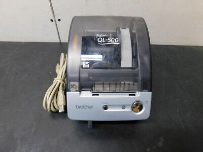 Brother P-touch Ql-500 Manual-cut -- Usb Thermal Label Printer