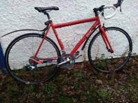 Viking road bike. New Re-sprayed frame in red. Early 1960's decals.