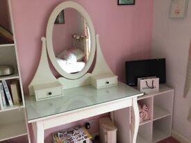 Ikea white dressing table
