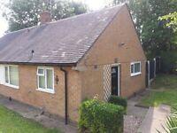 semi detached 1 double bedroom bungalow