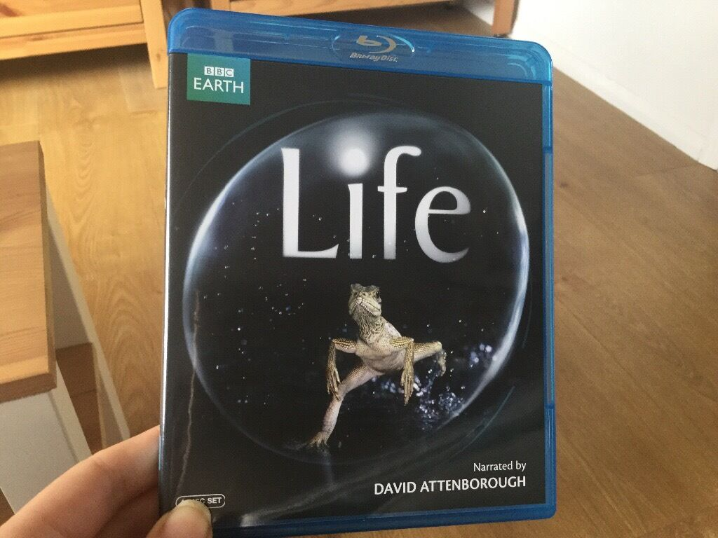BBC Life BLU RAY narrated by David Attenboroughin Kingston, LondonGumtree - Barely used BLU RAY documentary of David Attenboroughs acclaimed Life sponsored by the BBC