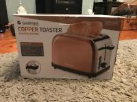 Goodmans Copper Toaster Diamond Edition