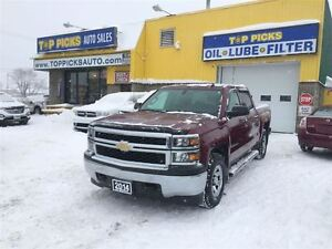 2014 Chevrolet Silverado 1500 2WT, CREW CAB, 4X4, POWER GROUP, O