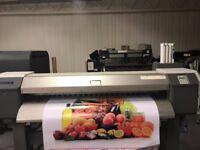 Mutoh ValueJet 1614, large format, eco-solvent printer
