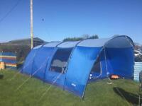 Vango Farnham 600 6 person tent with foot print