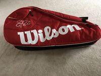 Wilson Federer Racket Bag -Red