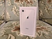 New Apple iPhone 8 - 64GB - Silver (Unlocked) Smartphone