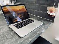 Macbook Pro (Core i7, Retina, 15-inch, Early 2013, 16GB, 500GB SSD)