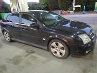 AUTOMATIC 53 reg black vauxhall signum diesel+towbar+mot+tax needs power steering pump+FREE DELIVERY