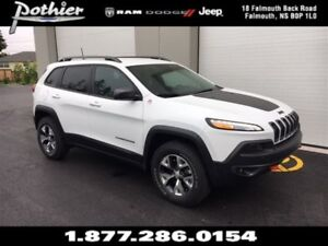 2017 Jeep Cherokee Trailhawk Leather Plus | LEATHER | HEATED SEA