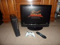 XBOX 360/120GB with TV 22ich UMC For Sale-CHEAP!