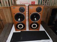 CELESTION DITTON 15 XR BIG HI-FI SPEAKERS + BOX.