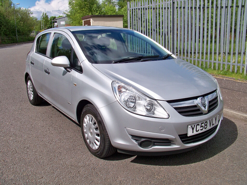 corsa 1 2 life 2008 58 vauxhall corsa life 1 2 only 49k miles 10 month mot f s h in. Black Bedroom Furniture Sets. Home Design Ideas