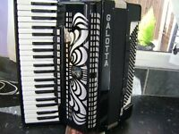 GALOTTA 120 BASS ACCORDION WITH MIDI
