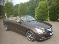Mercedes e250cdi convertible 2013 48,000 miles 1 owner car fsh