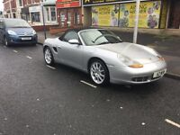 Porsche Boxster 3.2 S convertible 2001 6 speed manual silver