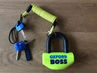 Oxford Boss motorbike disc lock