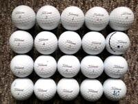 20 Titleist PROV!s grey stripe in immaculate condition