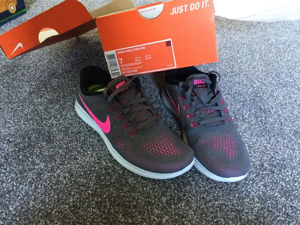 Nike trainers 4.5in Hoyland, South YorkshireGumtree - Brand new, husband bought as a gift, have another pair of Nike running shoes but these are a different style so a different fit. 4.5, welcome to try. Lovely everyday trainer. Collection Hoyland may deliver