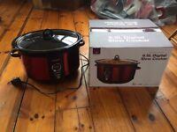 Andrew James 6.5 Litre Premium Digital Red Slow Cooker (RRP £55.99)