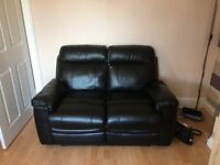 A two and three seater reclining couches for sale