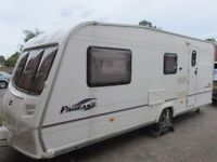 Bailey Pageant Champagne Series 5, 4 Berth Caravan
