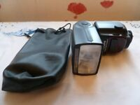TRIOPO SPEEDLIGHT FLASH FOR NIKON. EXCELLENT CONDITION.
