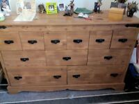Harveys chest of drawers. good condition. £120 ono