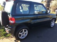 4X4 Mitsubishi Pinin 5 Speed Manual Immaculate Throughout