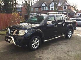 2008 58 Nissan Navara 2.5 DCI Outlaw Diesel with Long Mot & Full Chrome Pack