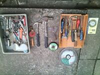 garden tools & tools joblot, somethings have been sold from the photos, but loads left
