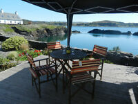 3 bedroomed holiday cottage on the Island of Easdale in Scotland