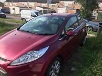 Ford Fiesta 2011 1.25 low mileage