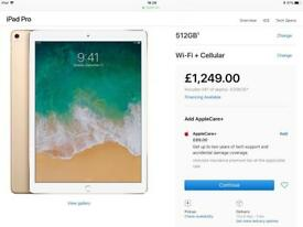 latest Apple iPad Pro 12.9 WiFi and cellular*NEW*
