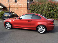 BMW 118d SE Coupe 2010 Sedona Red E82 (Manual, Leather, 11 Months MOT)