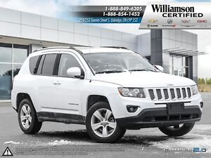 2016 Jeep Compass HIGH ALTITUDE**LTHR**SUNROOF**4X4